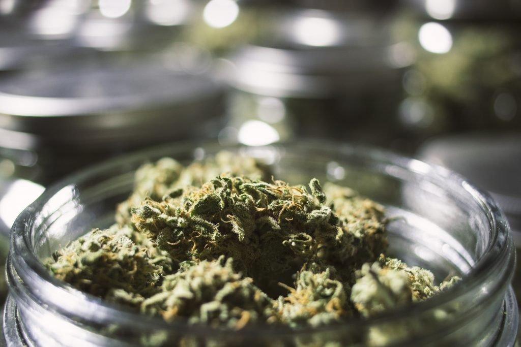 Marijuana being sold at a dispensary