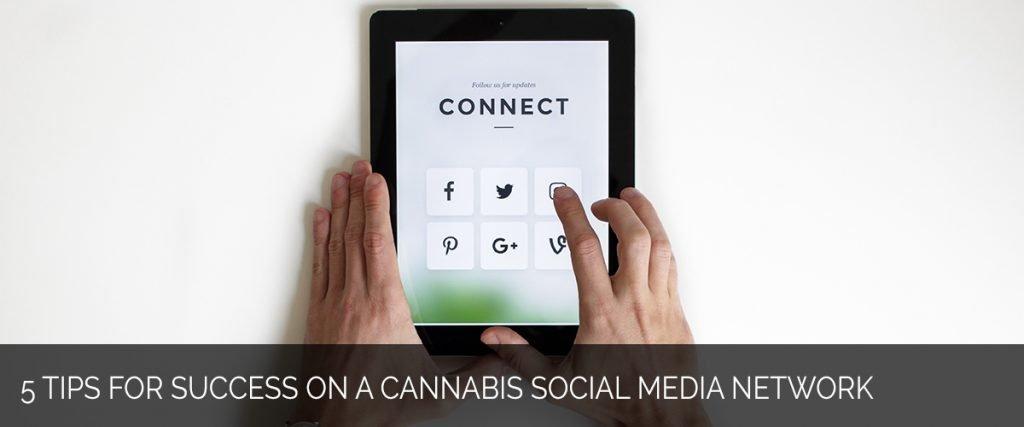 5 Tips for Success on A Cannabis Social Media Network