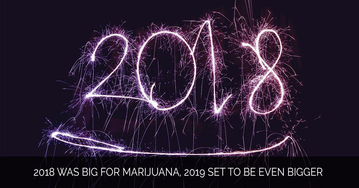 2018 Was Big for Marijuana, 2019 Set to Be Even Bigger - Marijuana Marketing Xperts