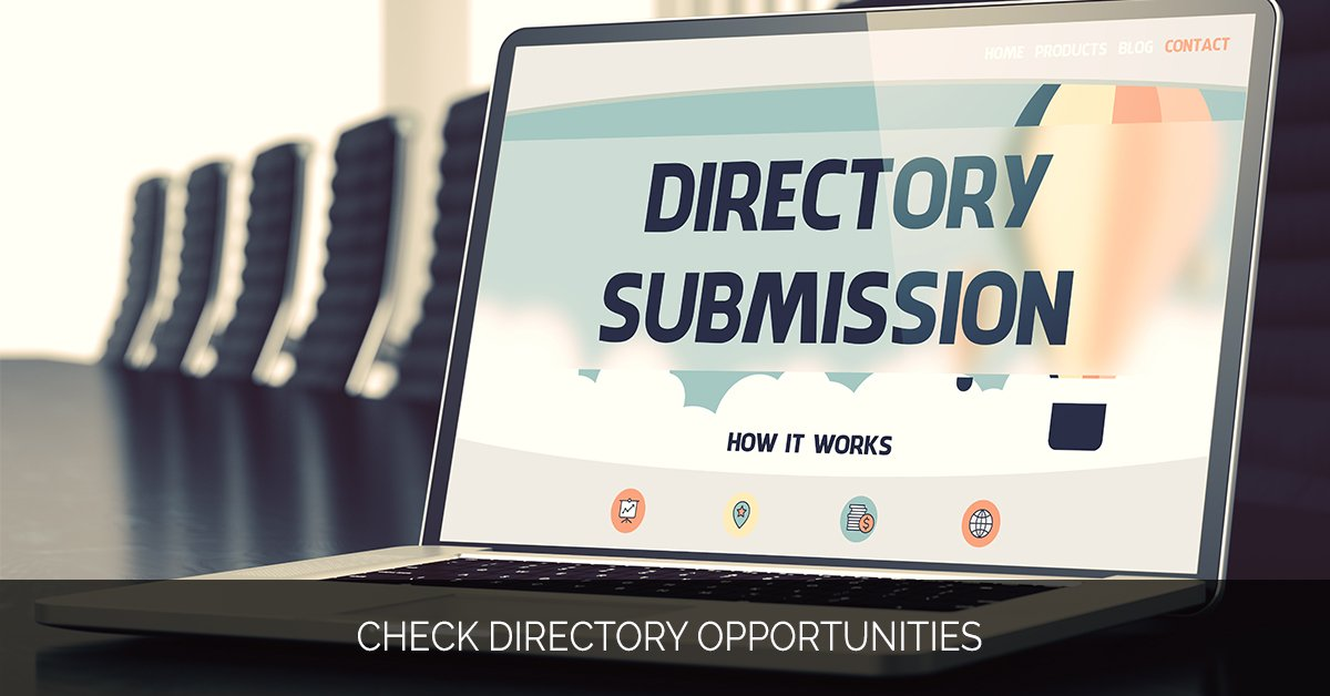 Check Directory Opportunities