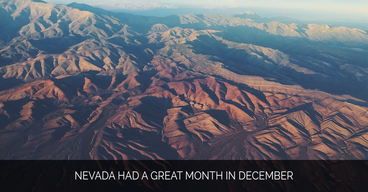 Nevada Had a Great Month in December - Marijuana Marketing Xperts