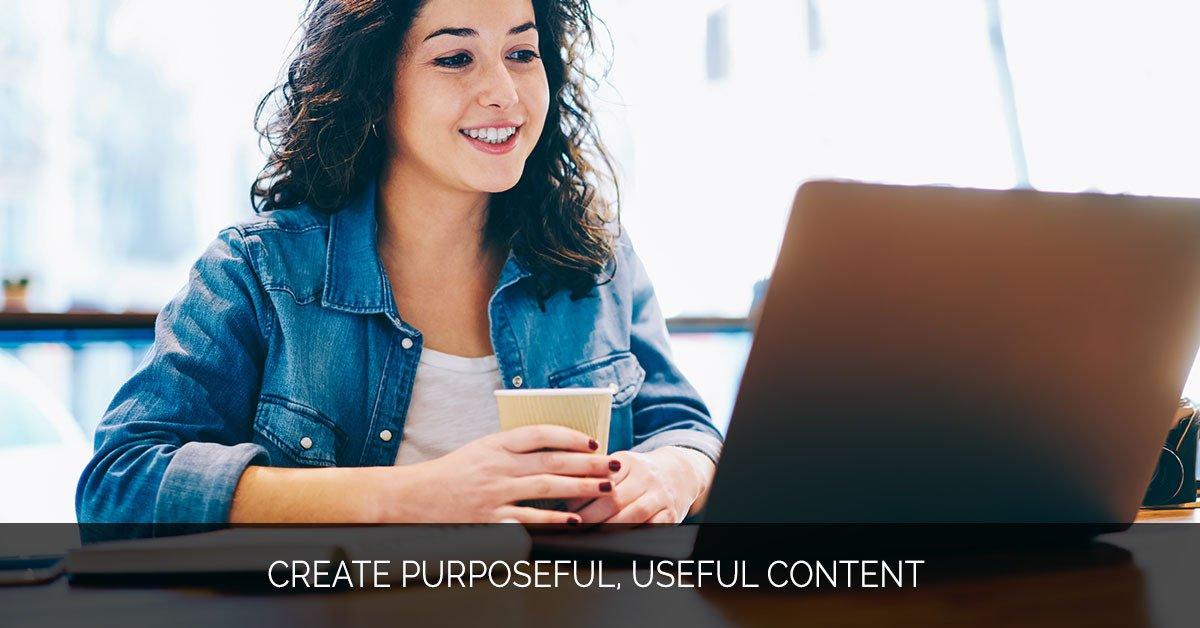 Create Purposeful, Useful Content - Marijuana Marketing Xperts