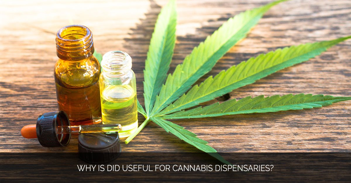 Why is DID Useful for Cannabis Dispensaries - MMX