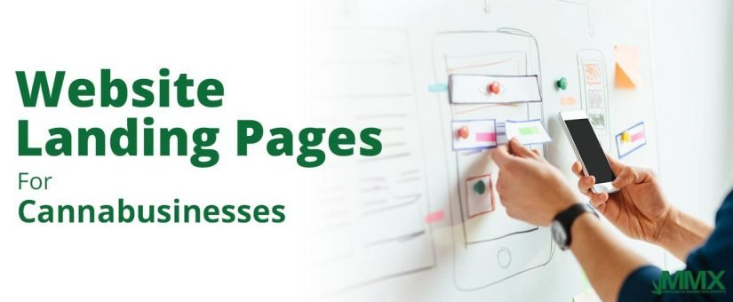 Using Website Landing Pages for Cannabusinesses
